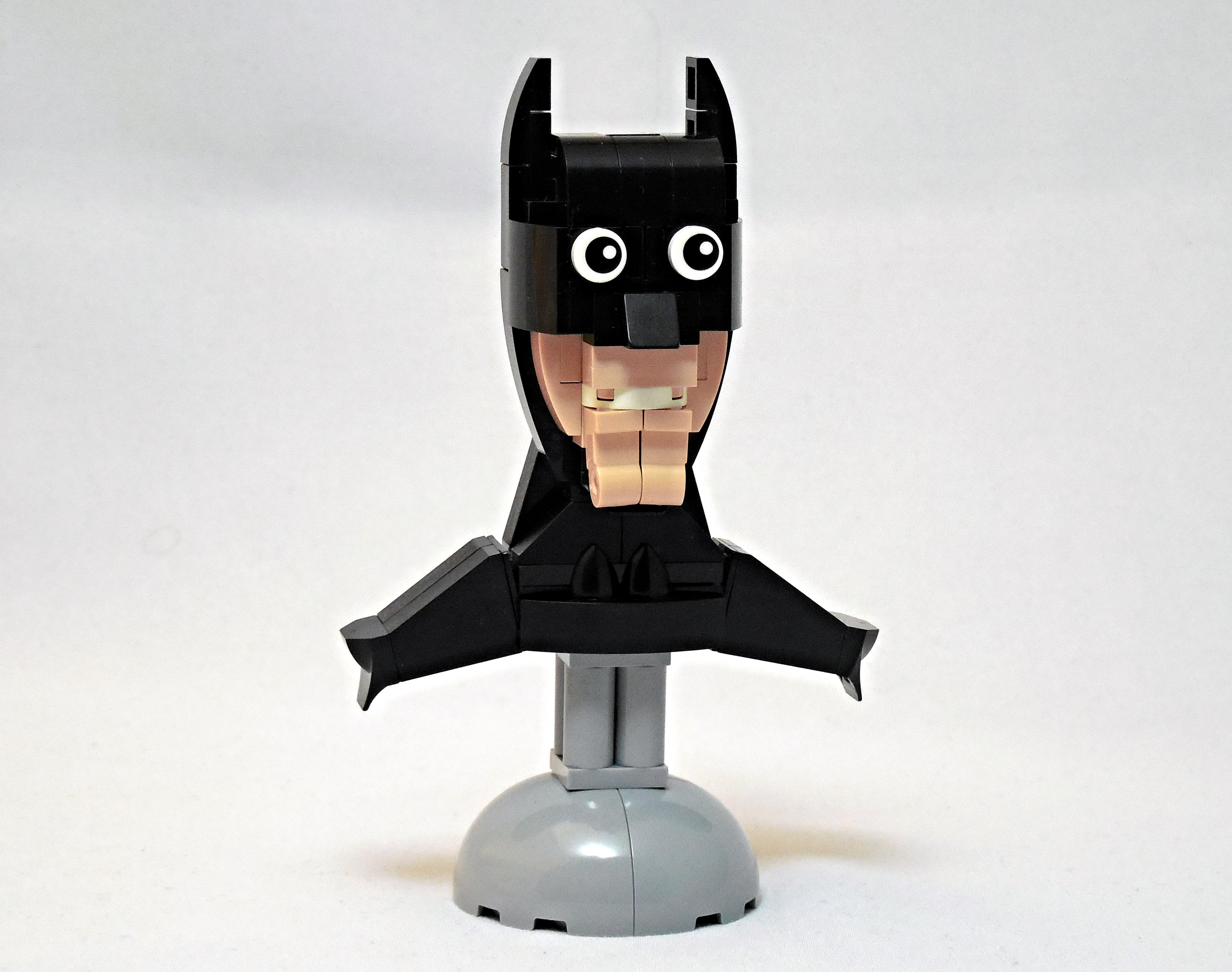 LEGO® MOC by Vitreolum: The Batfleck Bust