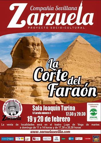 Zarzuela 'La Corte del Faraón'