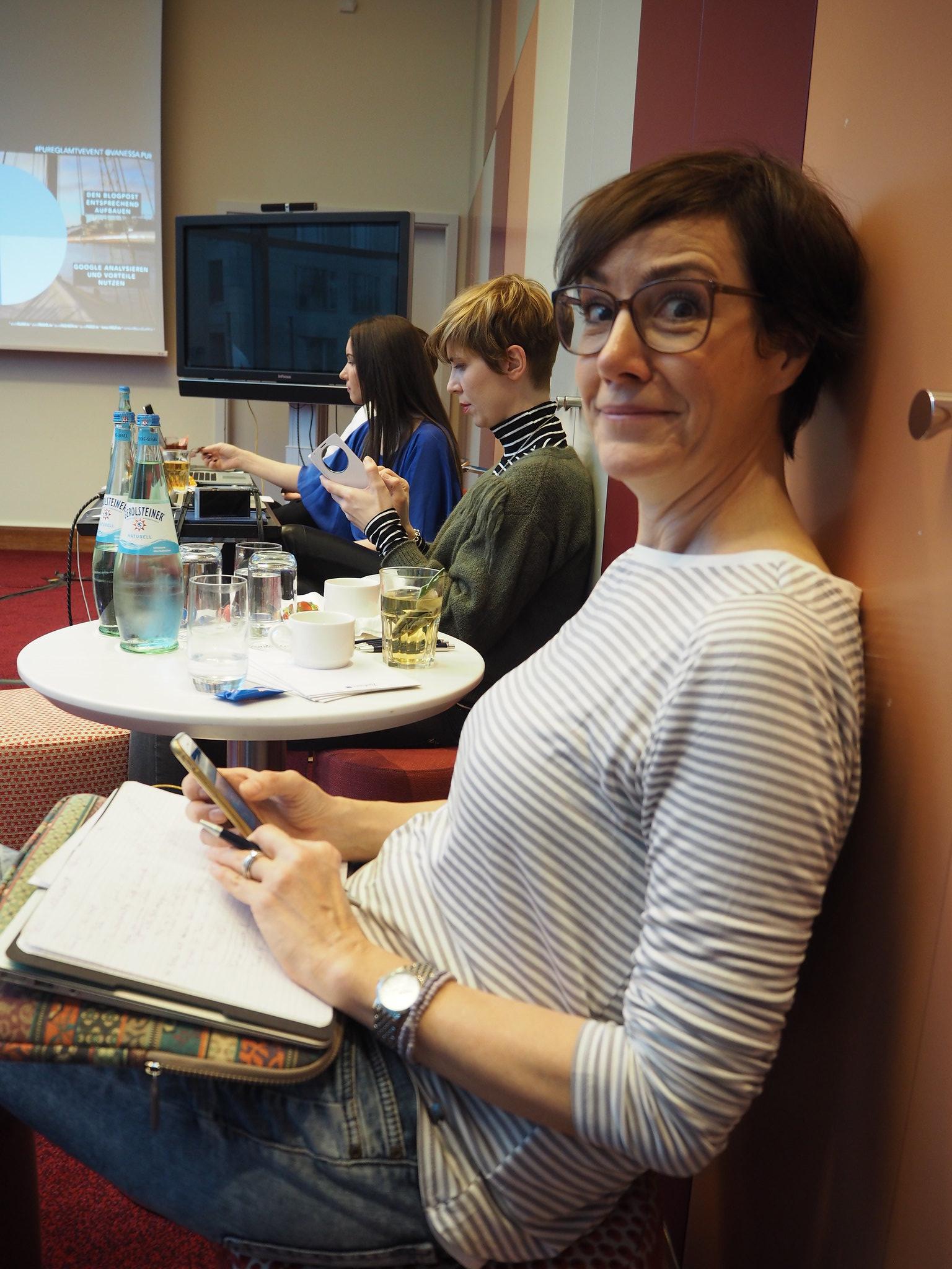 Blogger & SEO Workshop von Pure Glam mit der Schminktante