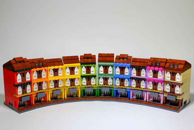 Mini Rainbow Shophouses