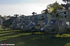 Polish Air Force & Polish Navy - PZL-Swidnik Mi-2 Hoplite & Mil Mi-4 Hound - Polish Aviation Musuem - Krakow, Poland - 151010 - Steven Gray - IMG_0510