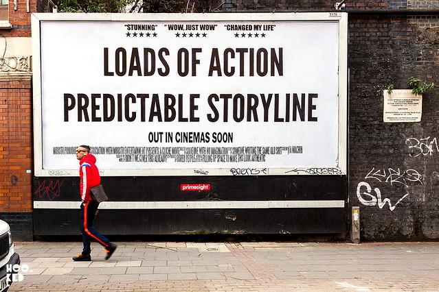 Mobstr Hijacked Billboard, London