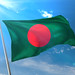 Photorealistic Flag of Bangladesh