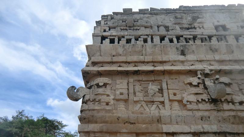 Mexico - Chichén Itzá; Las Monjas Temple
