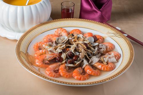 要結婚了!到高雄尊龍大飯店場勘試菜經驗分享_養生藥膳鮮大蝦
