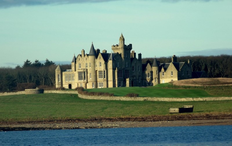 Balfour castle architect