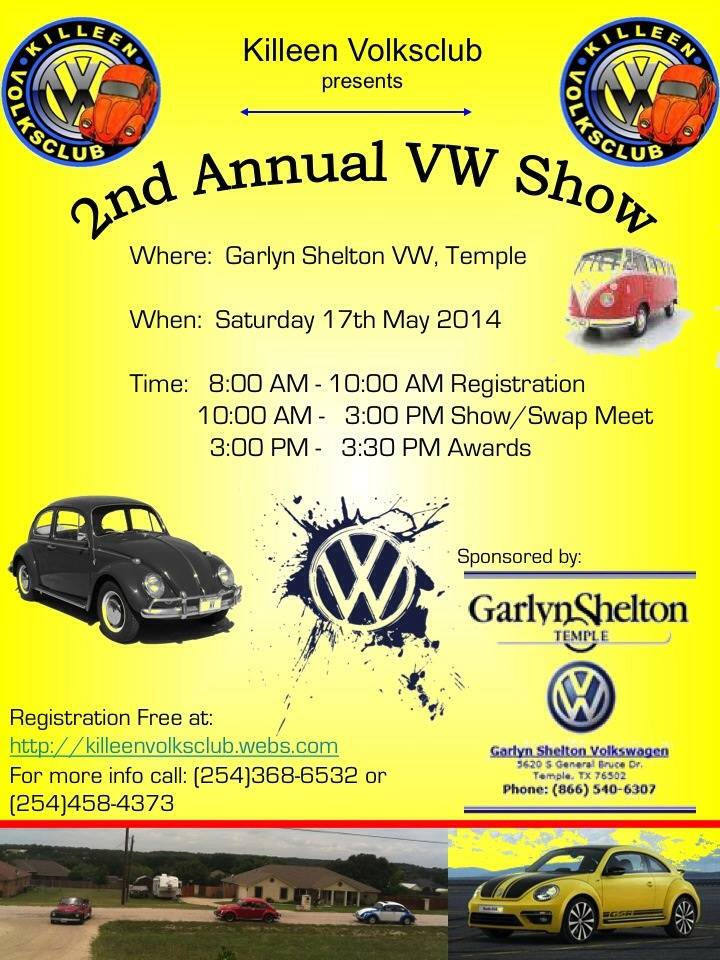 Killeen 2nd Annual VW Show