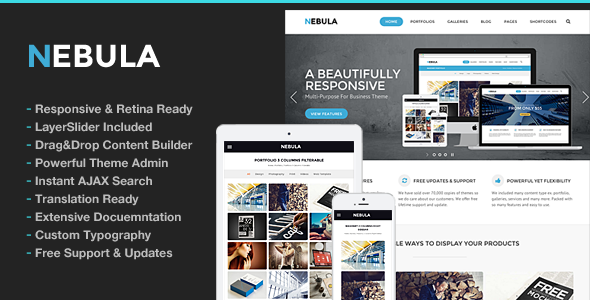 Nebula v1.5.6 – Responsive Multi-Purpose Theme