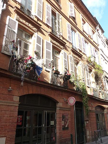 balcons décorés
