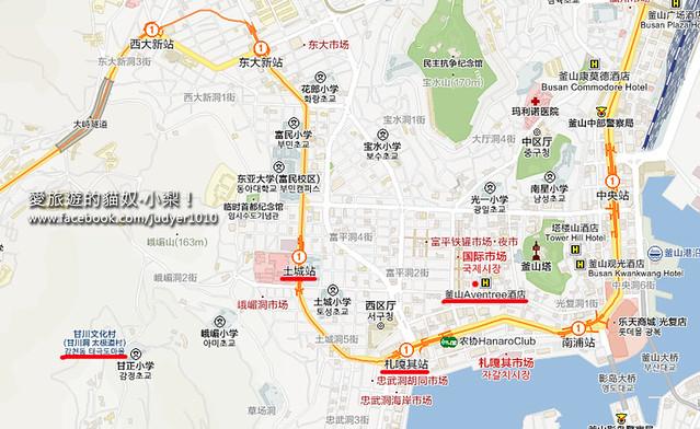 南浦洞地圖 -1