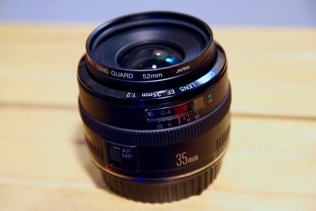 EF35mm f2.0 をゲットだぜ。