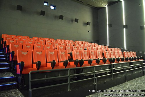 MX4D Cinema in Vista Mall, Evia Lifestyle Center, Daang Hari