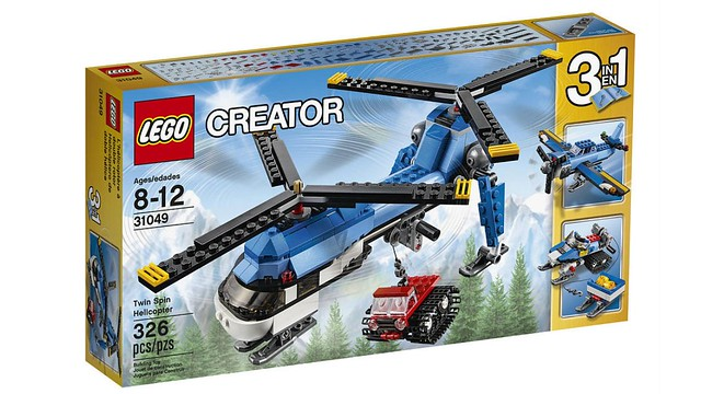 LEGO Creator Twin Spin Helicopter (31049) box