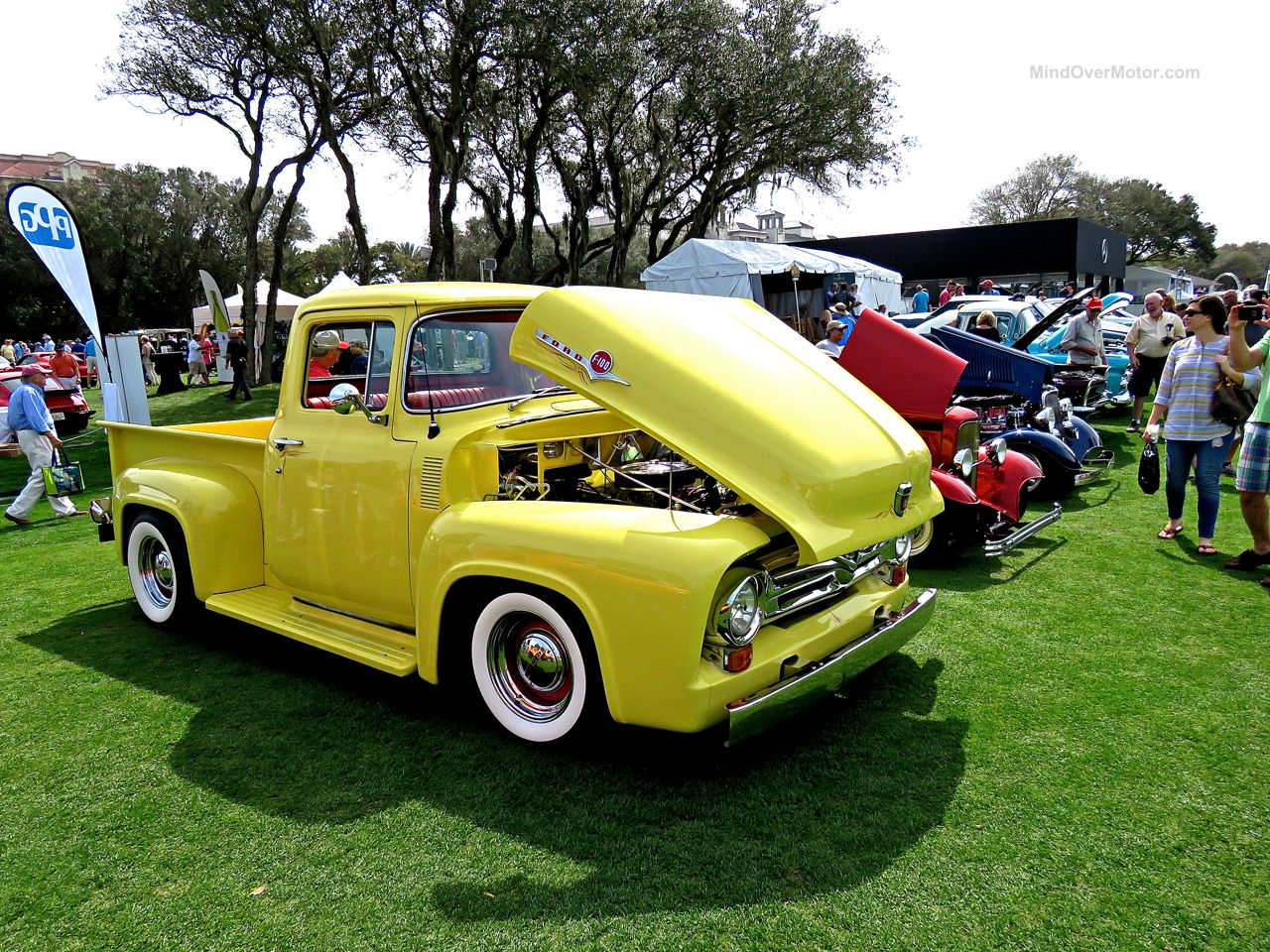 Custom Ford F-100 at Amelia Island 6