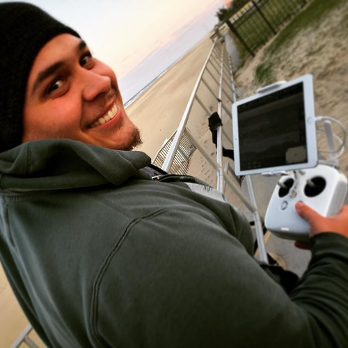 Had fun shooting some time lapse aerial shots with the phantom today. Photo creds: @rojawesome #phantom4 #drone #vabeach #oceanfront #photography #videography