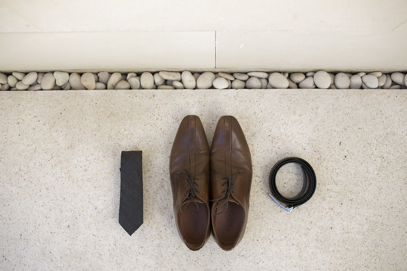 Well-Groomed Groom Alex Tie Shoes Belt