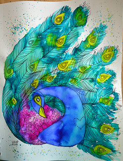 16 - Art & Bird - Art Journal Page