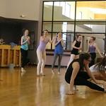 2016 spring dance concert rehearsal