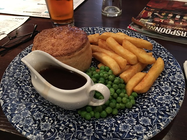 steak and ale pie!!