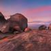 Granite chunks by Dylan Toh