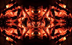 Pareidolia - Fire Demon - Six