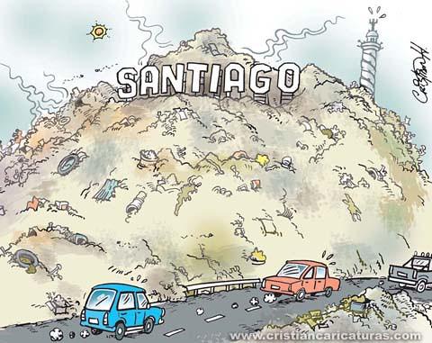 Santiago y basura