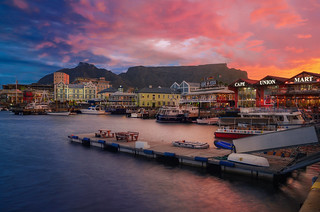 Cape Town & Sunset Time
