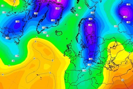 Předpověď počasí pro lyžaře (3. díl) - jak se vyznat v synoptické mapě