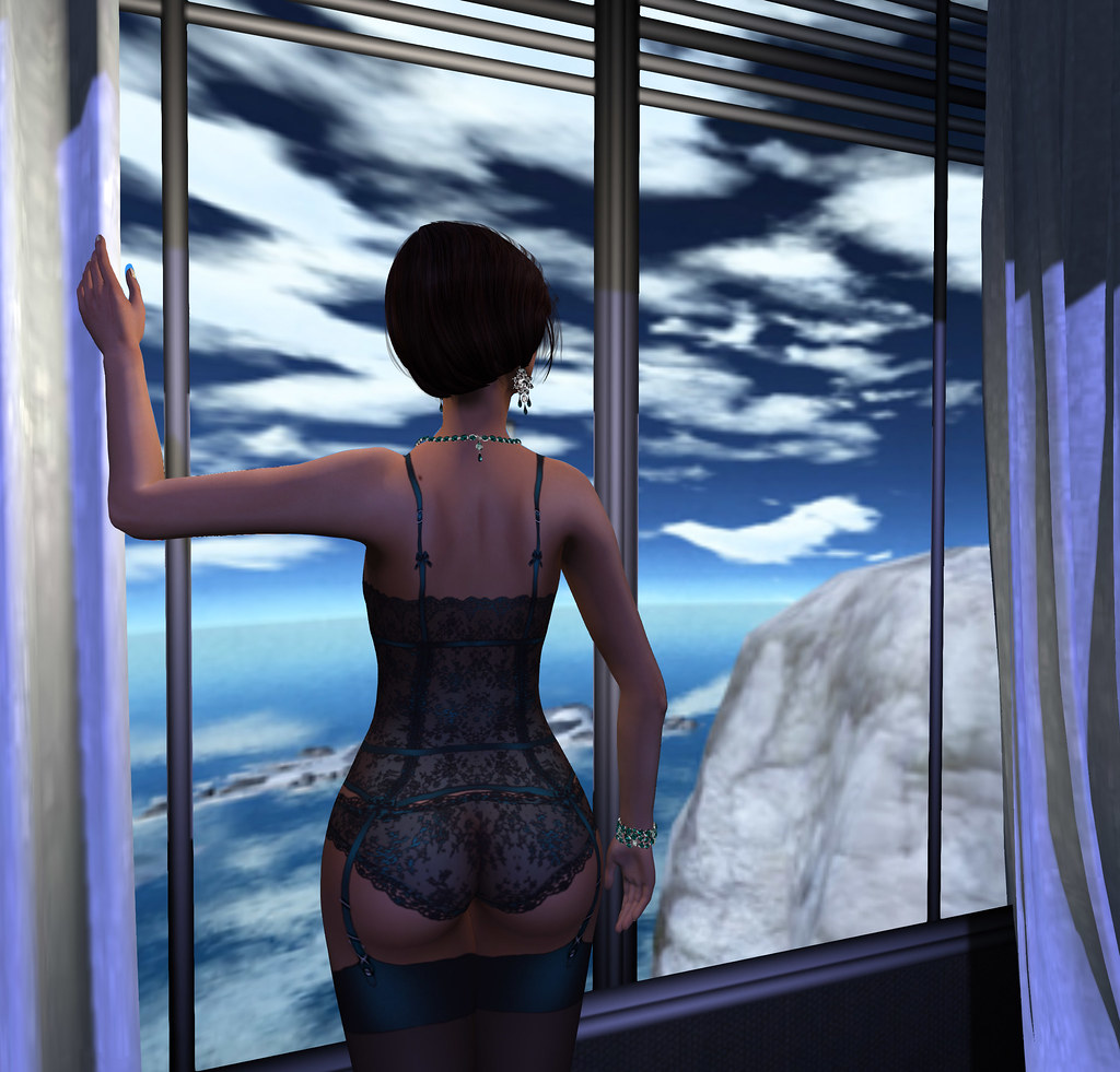 Window drapes, Something New- props n poses