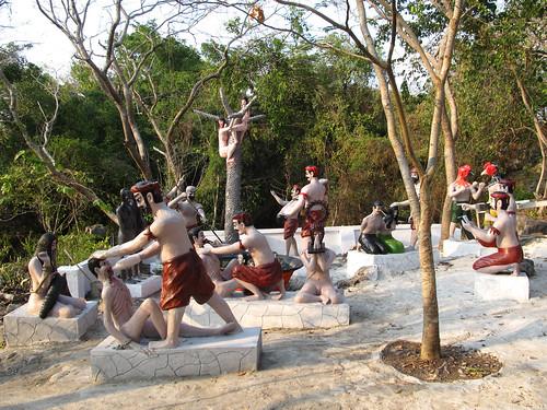 La campagne de Battambang: scènes de tortures perpétrées par les Khmers Rouges à Phnom Sampeu