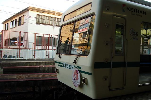 2016/01 叡山電車×ご注文はうさぎですか?? ヘッドマーク車両 #21