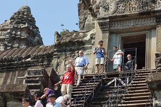 Image of Angkor Wat near Siem Reap. cambodia angkorwat siemreap