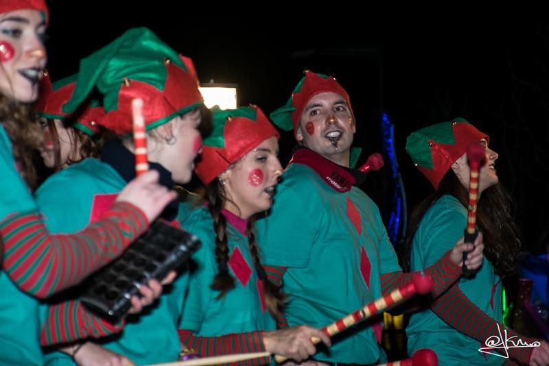 Los duendes animan la fiesta, Cabalgata de Reyes Magos en Sant Joan Despí 2016