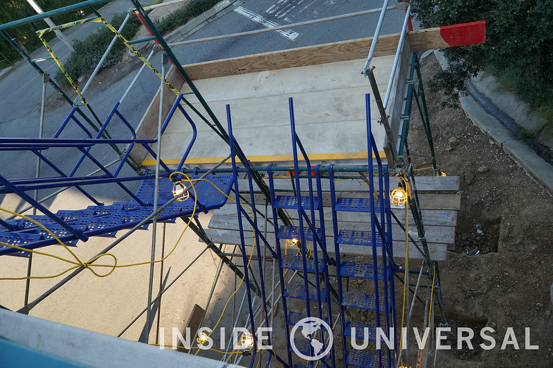 January 5, 2016 Update - StarWay - Universal Studios Hollywood