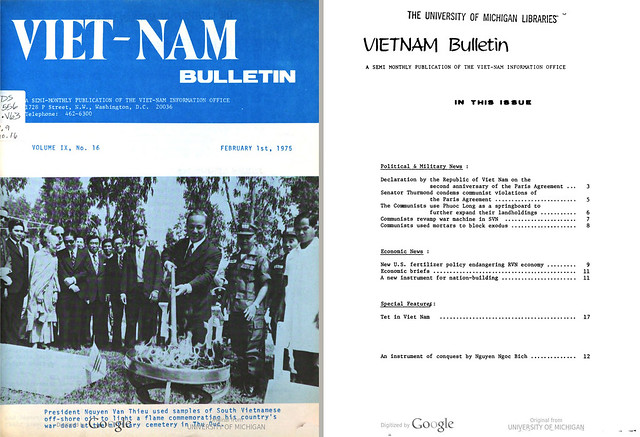 VIETNAM Bulletin - FEBRUARY 1st, 1975 (1)