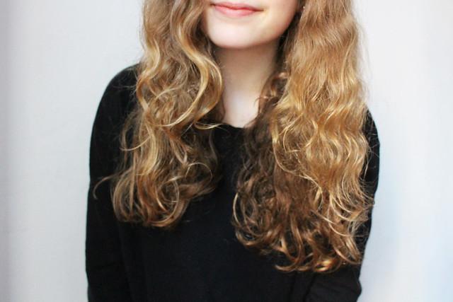 cheveux huilés
