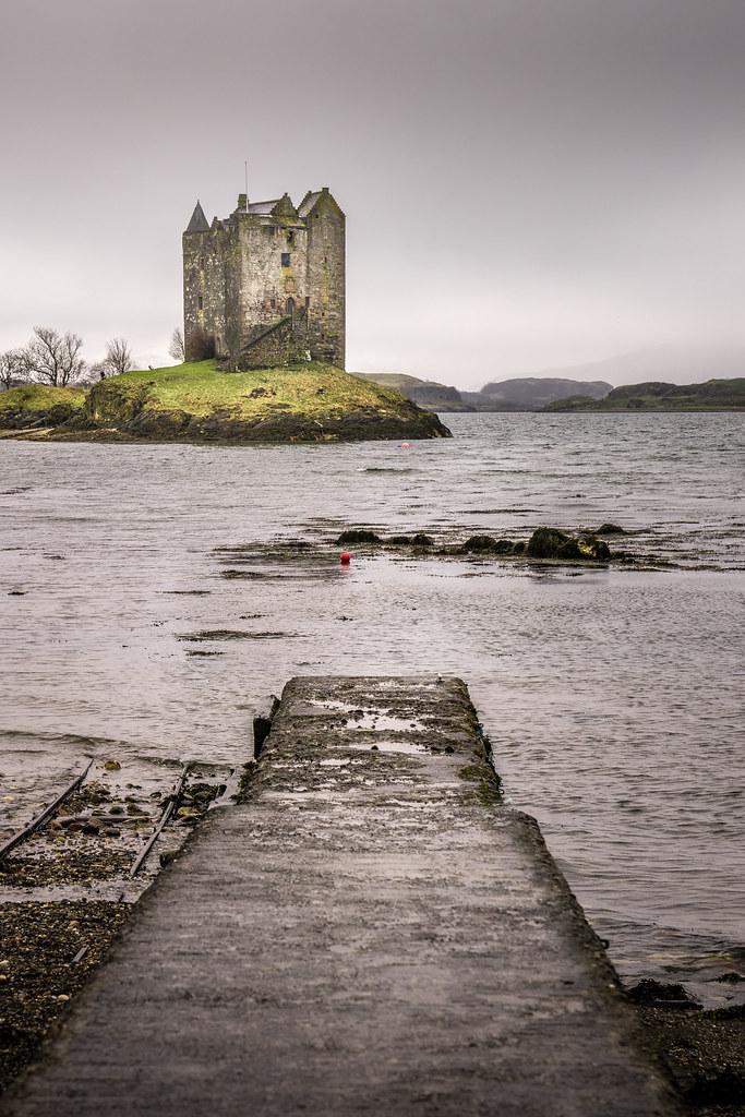 Stalcher castle, Scotland picture