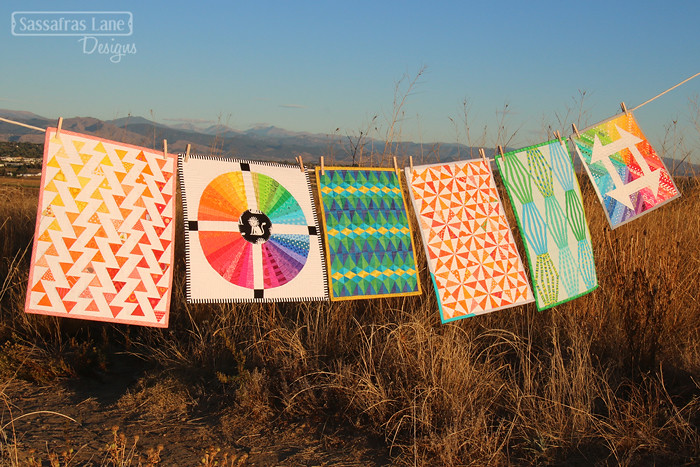Mini Quilts by Sassafras Lane Designs