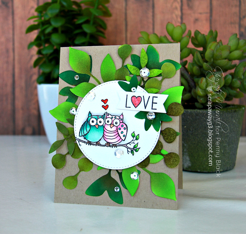 LOVE Owl card