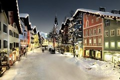 Après-ski po lyžování v Tyrolsku