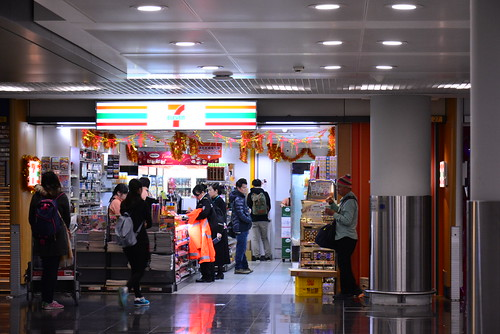 香港国際空港のセブン-イレブンは24時間営業