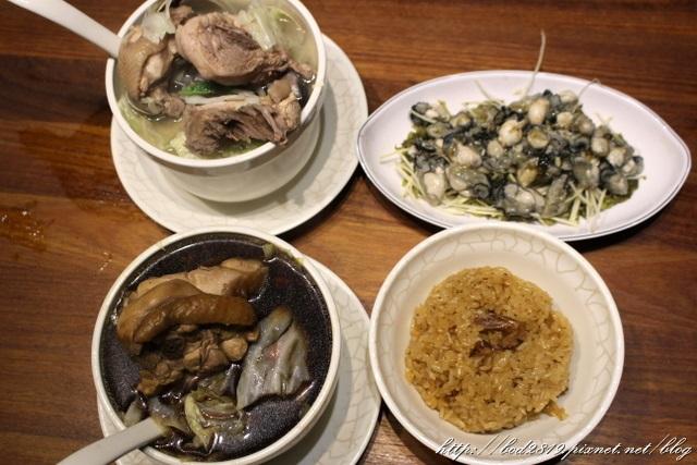雙月油飯台北雞湯CP值高.JPG