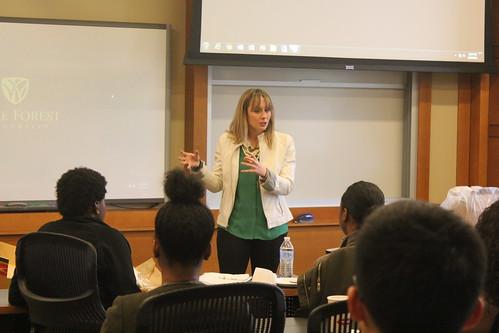 Meg Seitz (MBA '13) Campus Visit