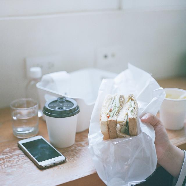 喜歡和你一起吃早餐