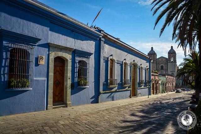 Oaxaca Pedestrian Road
