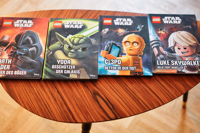Lego Star-Wars-Bücher