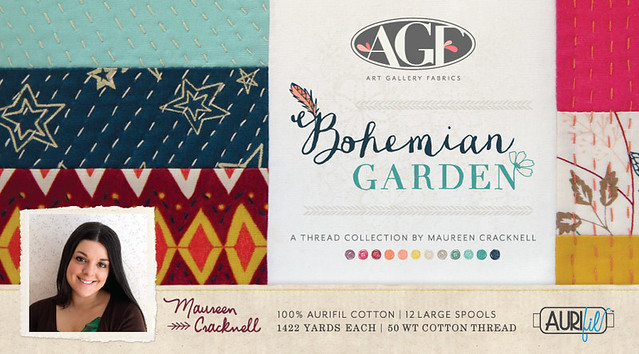 Bohemian Garden Thread Collection