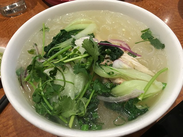 Chicken cellophane noodle soup - Joy Hing BBQ Noodle House