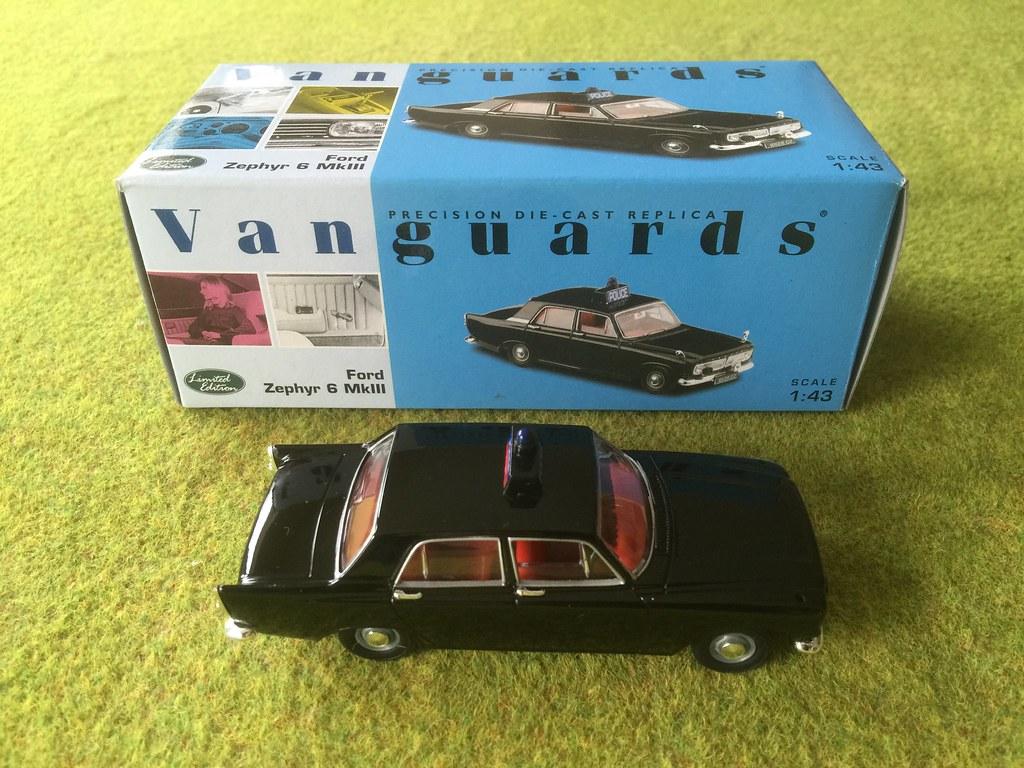 Lledo Vanguards VA04604 - Ford Zephyr 6 Mark III - R. U. C. - Royal ...