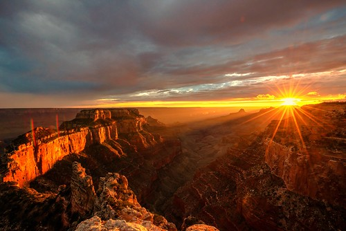 Nikon D810 Sunset Photos of North Rim Grand Canyon Arizona Overlook Grand Canyon Arizona! Dr. Elliot McGucken Fine Art Landscape & Nature Photography for Los Angeles Gallery Shows !